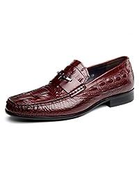 SHANGWU Zapatos De Vestir De Los Hombres Zapatos De Los Hombres Zapatos De Guisantes Zapatos Ocasionales