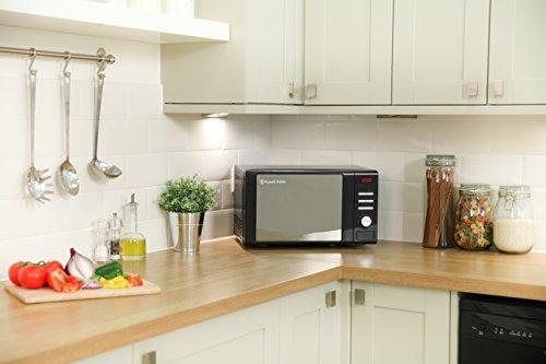 Russell Hobbs RHM2064B Heritage Digital 800w Solo Microwave, 20 Litre – Black