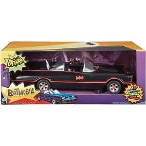 Batman 66 Classic Barris Design Batmobile Mattel 1:18 Scale by mattel