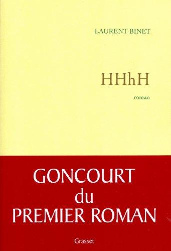 HHhH (Littérature Française) par Laurent Binet
