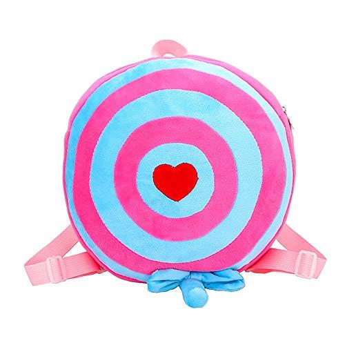 erthome Kids Animal Rucksäcke Girl Boy Cute Schultasche Kids Cartoon Gifts Schultaschen Umhängentasche Anti Diebstahl Tasche Damen Hobo Tasche für (Blau)