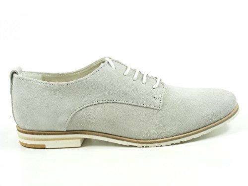 SPM 61306422 Bermuda Chaussures à lacets femme Grau
