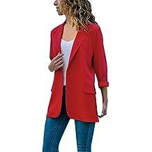 new arrival bc2bd 3a60d Amazon.it: giacca rossa donna elegante - 1 stella e più