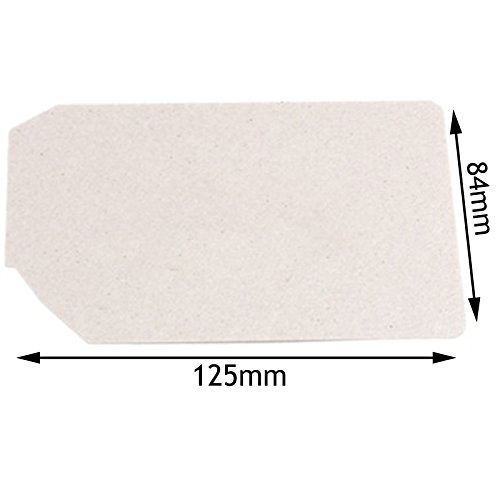 spares2go Wellenleiter Cover für Panasonic Mikrowelle (125mm x 84mm) - 80 X 84 Panel