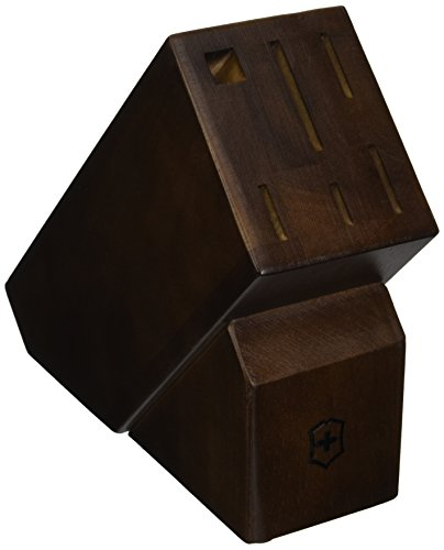 R.H. Forschner by Victorinox 6-Slot Hardwood Knife Block Cooks Tools Swiss
