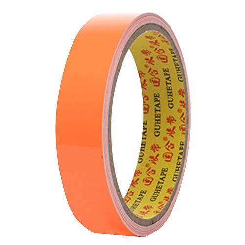 Vanpower 20mmx3m Reflective Self-Adhesive Sticker Fluorescent Warning Tape (Orange) -
