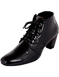 Exotique Women's Black Casual Boots (EL0060BK)