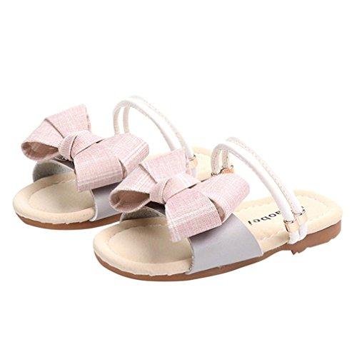 64708355952ae GongzhuMM Sandales Bébé Fille 21-30 Été Chaussures de Plage Fille Pantoufle Fille  Tongs