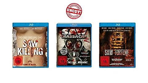Saw Massacre (Uncut!) - Blu-ray 3er