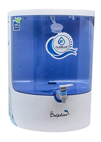 FLORIAN® (FL8020) Dolphin 10 L RO+Mineral Booster Water Purifier
