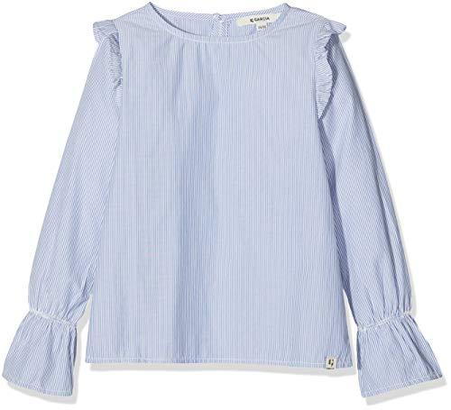 Garcia Kids Mädchen A92432 Bluse, Mehrfarbig (Off White 53), 164