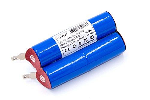 vhbw Akku passend für Gardena Rasenkantenschere Accu 4 (2505) Grasschere, Grasschneider ersetzt Accu4, TBGD430MU - (NiMH, 3000mAh, 4.8V) Batterie