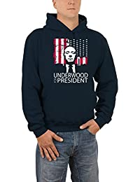 Touchlines Underwood For President, Sweat-Shirt àCapuche Homme