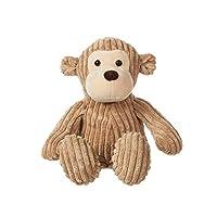 CHARAVECTOR Monkey Plush Toy Stuffed Animal Brown Soft Cuddly Perfect For Girls Boys Newborn Baby