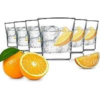 Tivoli Glasgow Vasos/Juego de 6/300 ML/Vasos de Agua/Apto para lavavajillas