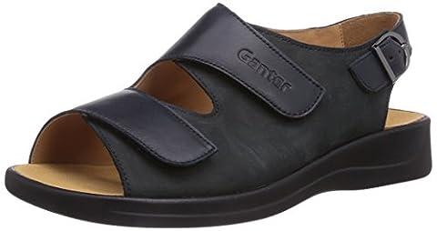 Ganter MONICA, Weite G, Damen Sandalen, Blau (ocean 3000), 42.5 EU (8.5 Damen UK)