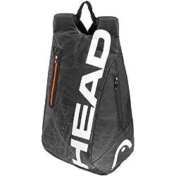 Head Tour Team - Mochila de tenis (33 x 52 x 20 cm) negro negro/blanco Talla:33 x 52 x 20 cm