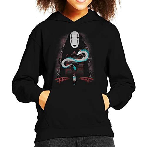 Cloud City 7 Spirited Away Chihiros Adventure Kid's Hooded Sweatshirt