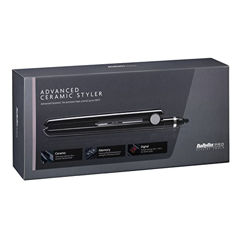advanced ceramic styler - 41mkqDXgZIL - BaByliss Pro Advanced Ceramic Styler Hair Straightener