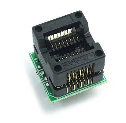 WINGONEER SOP20 bis DIP20 IC Steckdose Programmierer Adapter Sockel OTS-20-1.27-01 für 25xx Eeprom Blitz