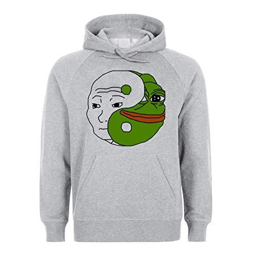 Medium Unisex Capuche À Hoodie Frog Pepe Funny Meme Pastomka Sweatshirt Sweat wnO80PkX