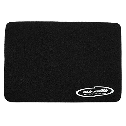 Storite® 3mm Thickness Speed Rubber Mouse Pad Black 1030 Skid Resistant Surface – Black 41mkreR1acL