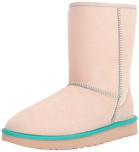 Classic Short Neon Stiefel, Beige (Canvas), 39 EU (Ugg Boots Clearance Frauen)