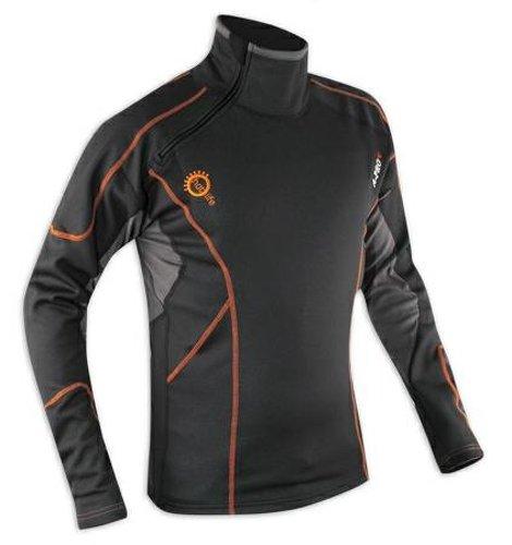 Preisvergleich Produktbild Thermoshirt Winter Atmungsaktiv Motorrad Textilshirt Funktionsshirt Herren L