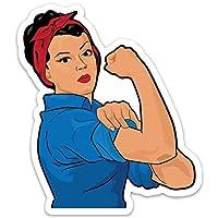 Rosie The Riveter Sticker Decal- Waterproof Vinyl for Laptop, Waterbottle