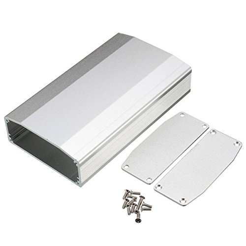 Preisvergleich Produktbild EsportsMJJ DIY Aluminium Box Circuit Board Electronic Enclosure Gehäuse 110 * 64 * 25,5 mm-Silber
