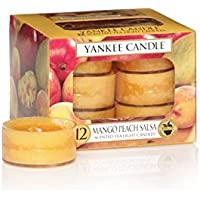 Yankee Candles Tealight Candele - Mango Peach Salsa