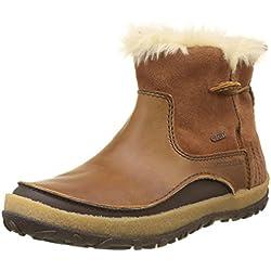 Merrell Tremblant Pull On Polar Waterproof, Botas Altas para Mujer, Marrón (Merrell Oak Merrell Oak), 38 EU