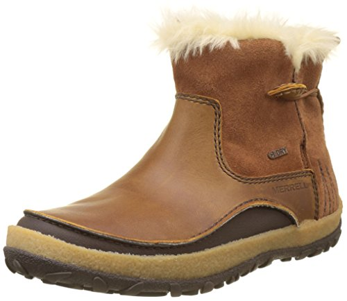 Merrell Women's Tremblant Pull on Polar Waterproof High Rise Hiking Boots, Brown...