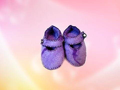 Snug felted shoes for Girls