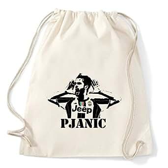 Art T-shirt, Zaino Sacca Miralem Pjanic, Natural