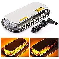 VISTARIC Ãmbar 44 LED Luz estroboscópica Luz del techo del coche Top Linterna de advertencia de emergencia 44W 7 modos