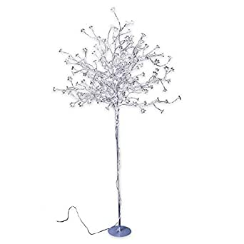 Led baum mit 200 lampen outdoor h 150 cm warmweiss for Lampen 150 cm