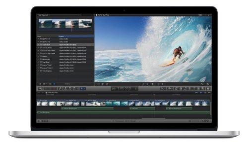 Apple MacBook Pro Retina Display 39,1 cm (15,4 Zoll) Notebook (Intel Core i7 2760QM, 2.4GHz, 8GB RAM, 256GB SSD, Intel HD 4000, NVIDIA GT 650M )