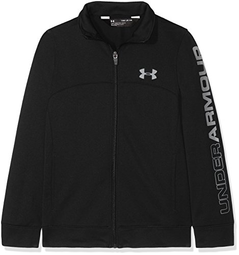 Under Armour Jungen Pennant Warm-Up Jacket Oberteil, Black, YXL -