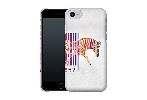 Handyhülle mit Tier-Design: iPhone 7 Hülle / aus recyceltem PET / robuste Schutzhülle / Stylisches & umweltfreundliches iPhone 7 Case - Apple iPhone 7 Schutzhülle: Blossom Bird von Terry Fan EAN Zebra von Mark Ashkenazi