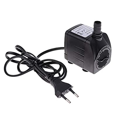 Tubayia 1500L/H Pompe Submersible pour Aquarium