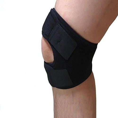 LL-Solace Care Einstellbare Kompression PATELLA KNEE STRAP - Verstellbare Patella Tendon Kniebandage Band - Patellar Tendinitis / Knie Schmerzlinderung - Überdehnte Knie / Chondromalacia / Osgood-Schlatter\'s S