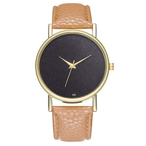 Preisvergleich Produktbild Tohole armbanduhr Damenuhr Damenuhren Strap Watch Damen Geschenke UhrenArmband Strap mit Edelstahl Schließe in Rose-Gold uhr damen uhr herrenuhren uhr uhren damen(Khaki, One size)