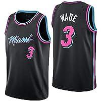 Nuevo Uniforme De Baloncesto, Miami Heat, No. 3, Wade, Jersey, Uniforme De Baloncesto