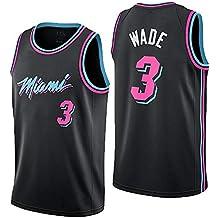Nuevo Uniforme De Baloncesto, Miami Heat, No. 3, Wade, Jersey,