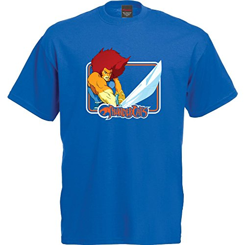 Vitamin TDamen T-Shirt Blau Königsblau