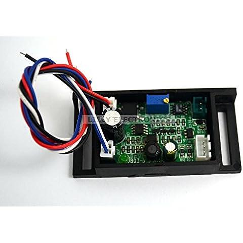 Controlador de diodo láser con circuito impreso 650nm, 660nm, 50-500mW