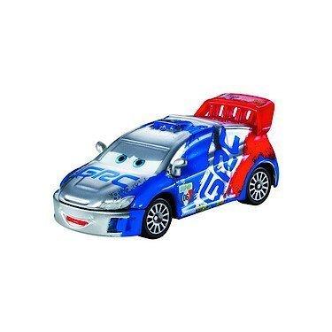 Disney Pixar Cars - 1:55 Scale Diecast Silver Racer Series - Raoul Caroule by Mattel