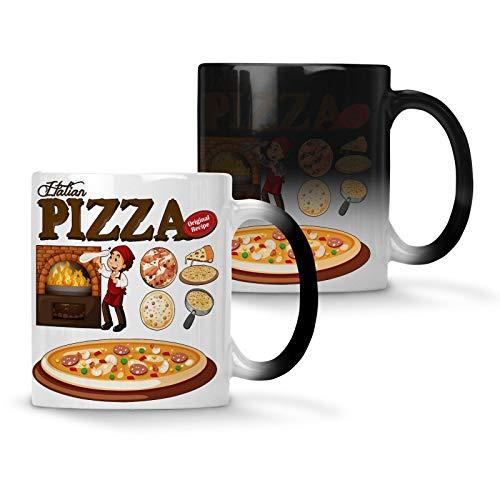 g814w Tasse mit Farbwechsel, für Pizzaofen, 313 ml
