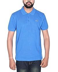 Fila Men S Polo T-Shirt (Medium)